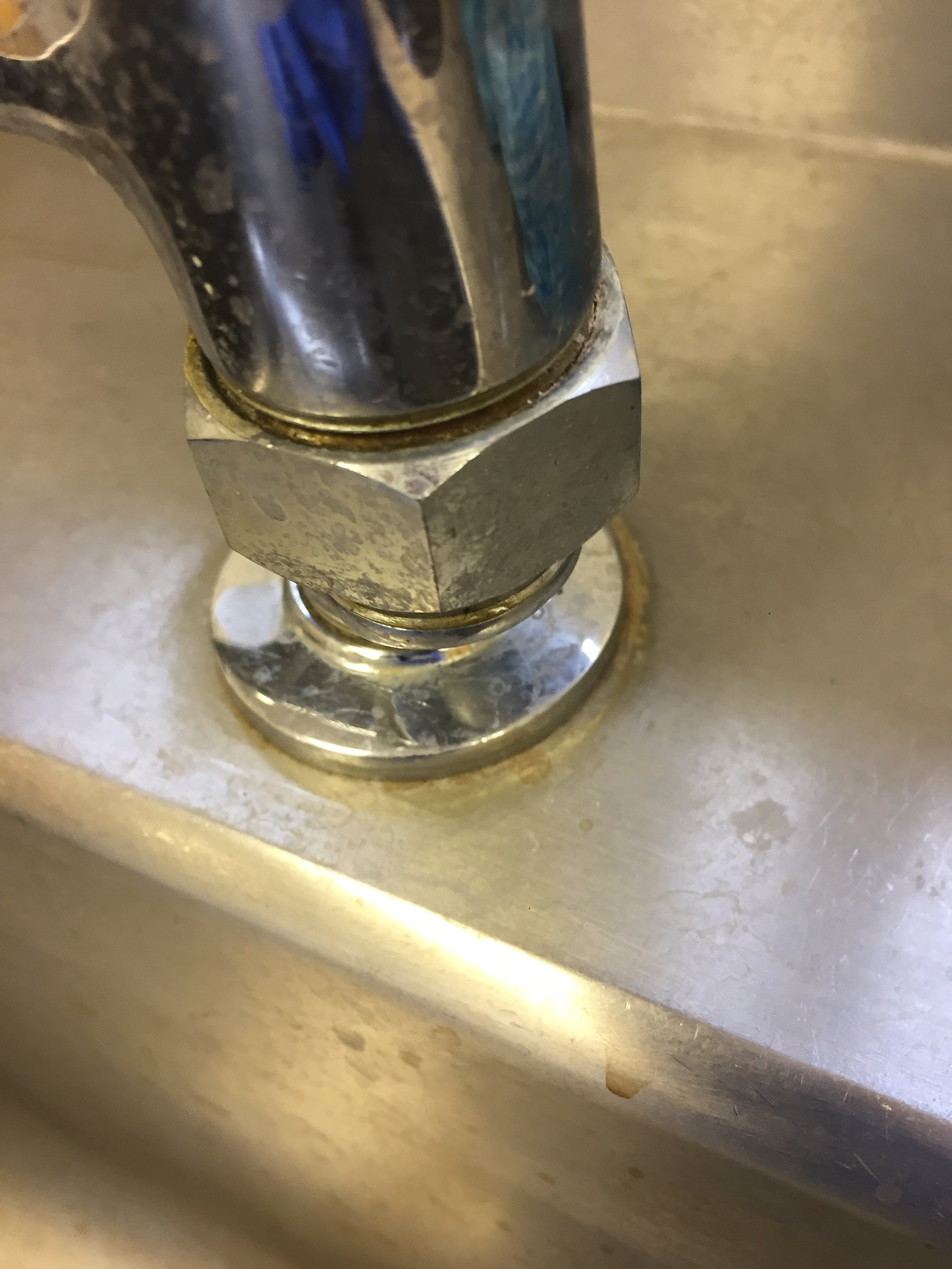 Scale Around Taps