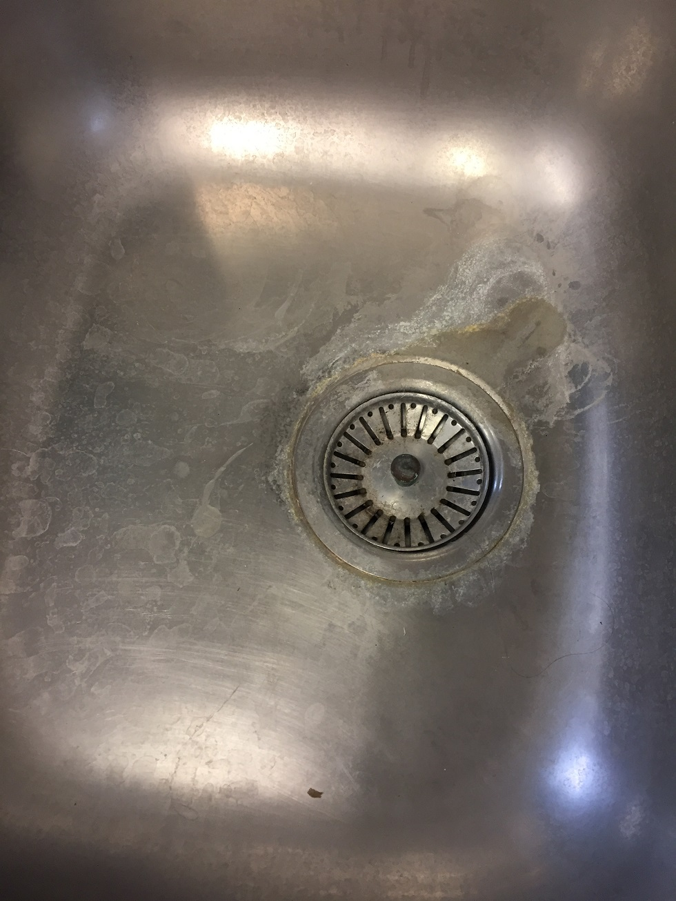 Scale in Sink
