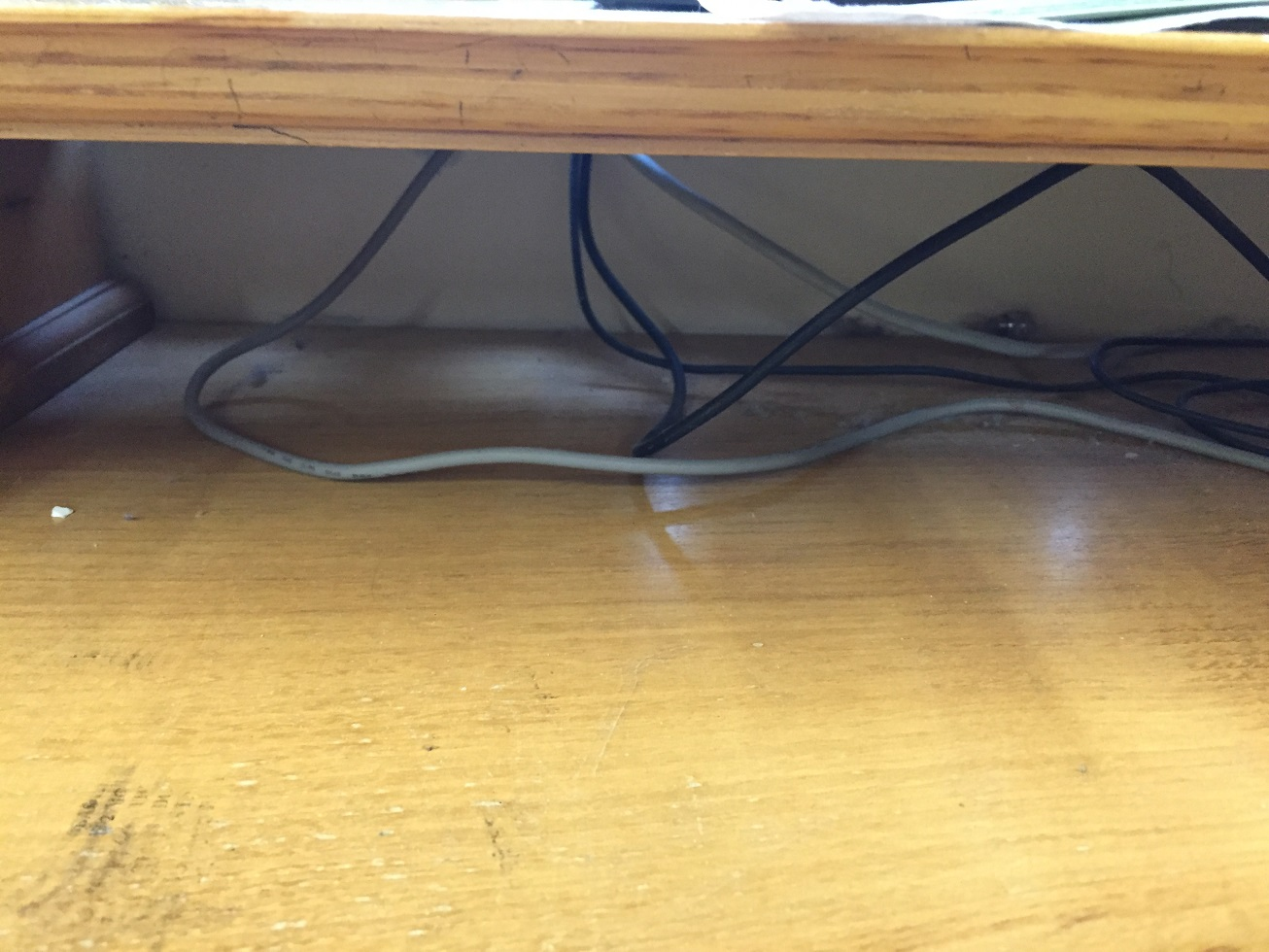 Rear / Under Desk Dusty