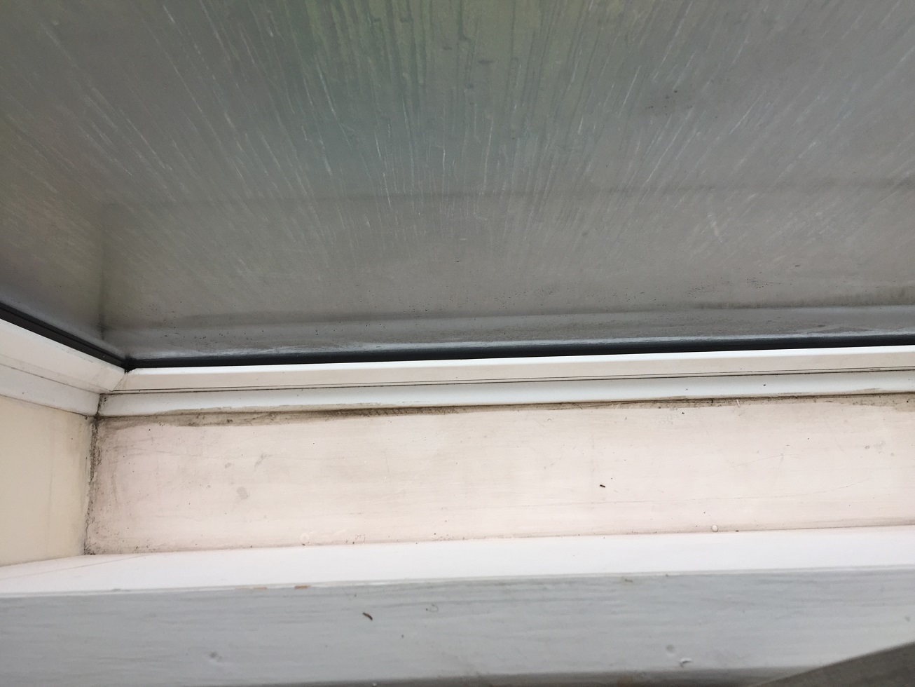 Cleaned Window Ledge