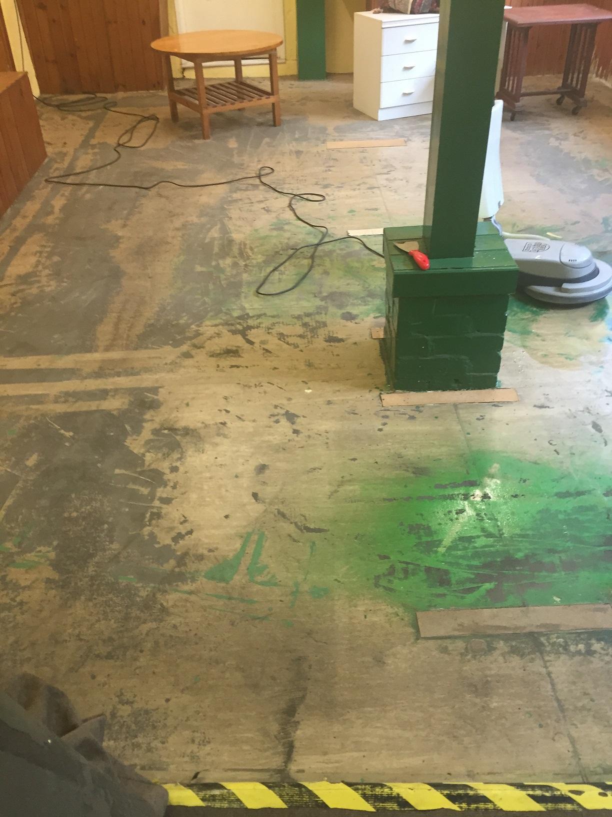 Vinyl Floor Restoration